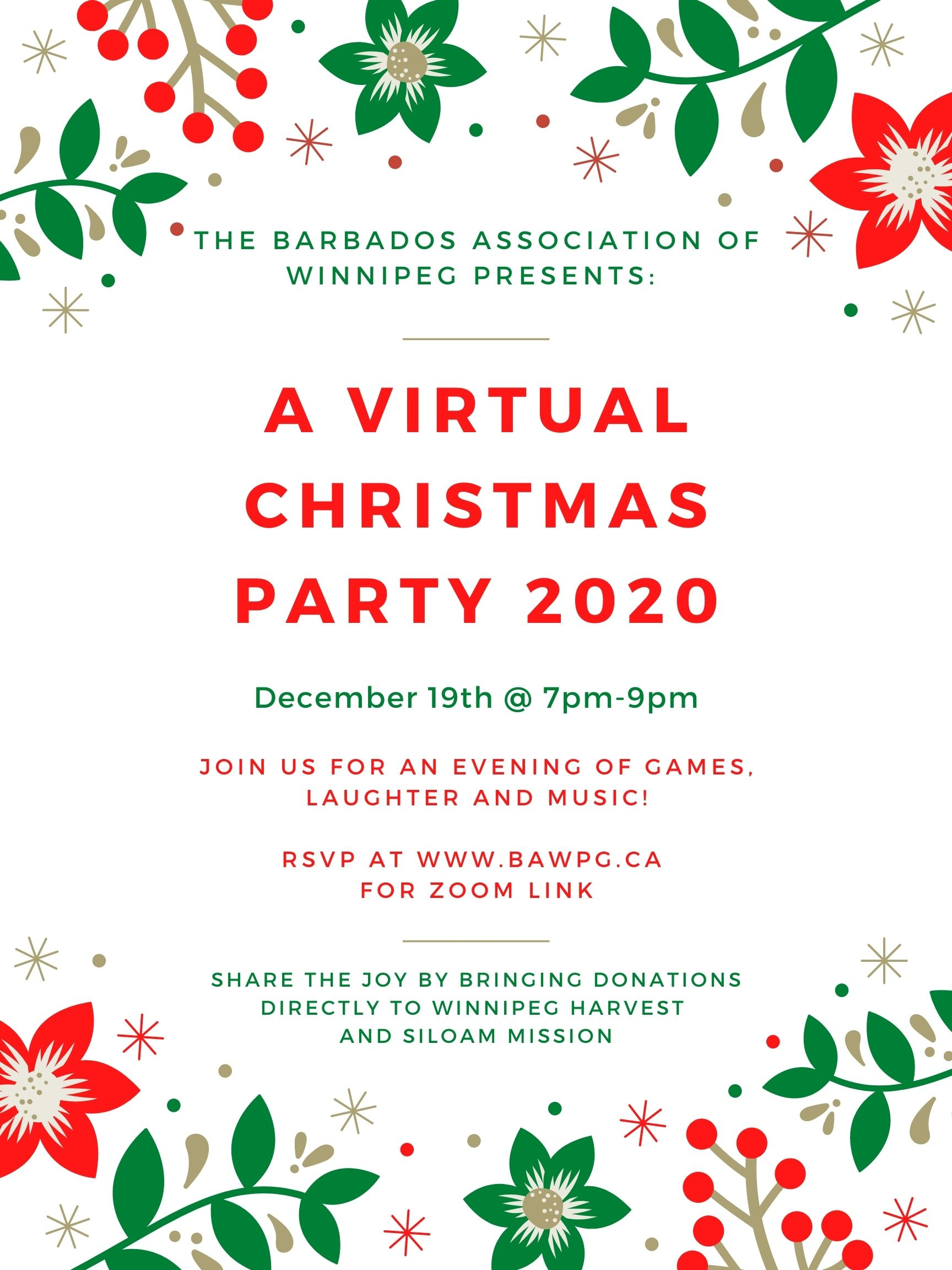 Virtual Christmas Party 2020